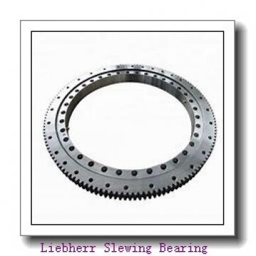 New type hydraulic aerial cage used heavy type slewing drive worm gear