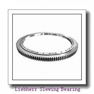 Light load thin section slewing bearing with flange
