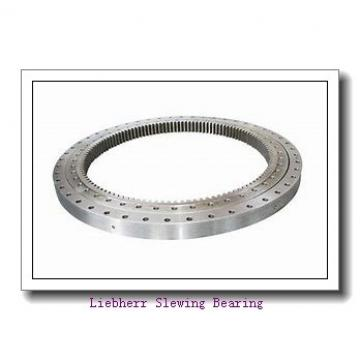 single row crossed roller slewing ring bearing for construction machinery