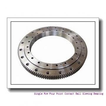 Internal External Gear Single Row Crossed Roller Slewing Ring Bearing For Crane
