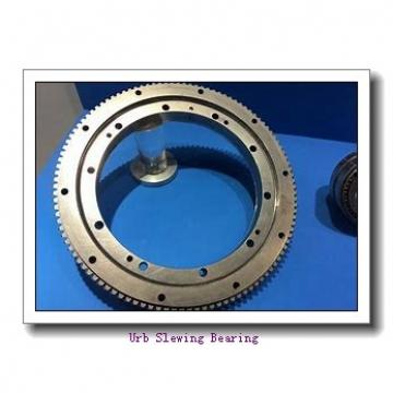 Round bale wrapper slewing bearing